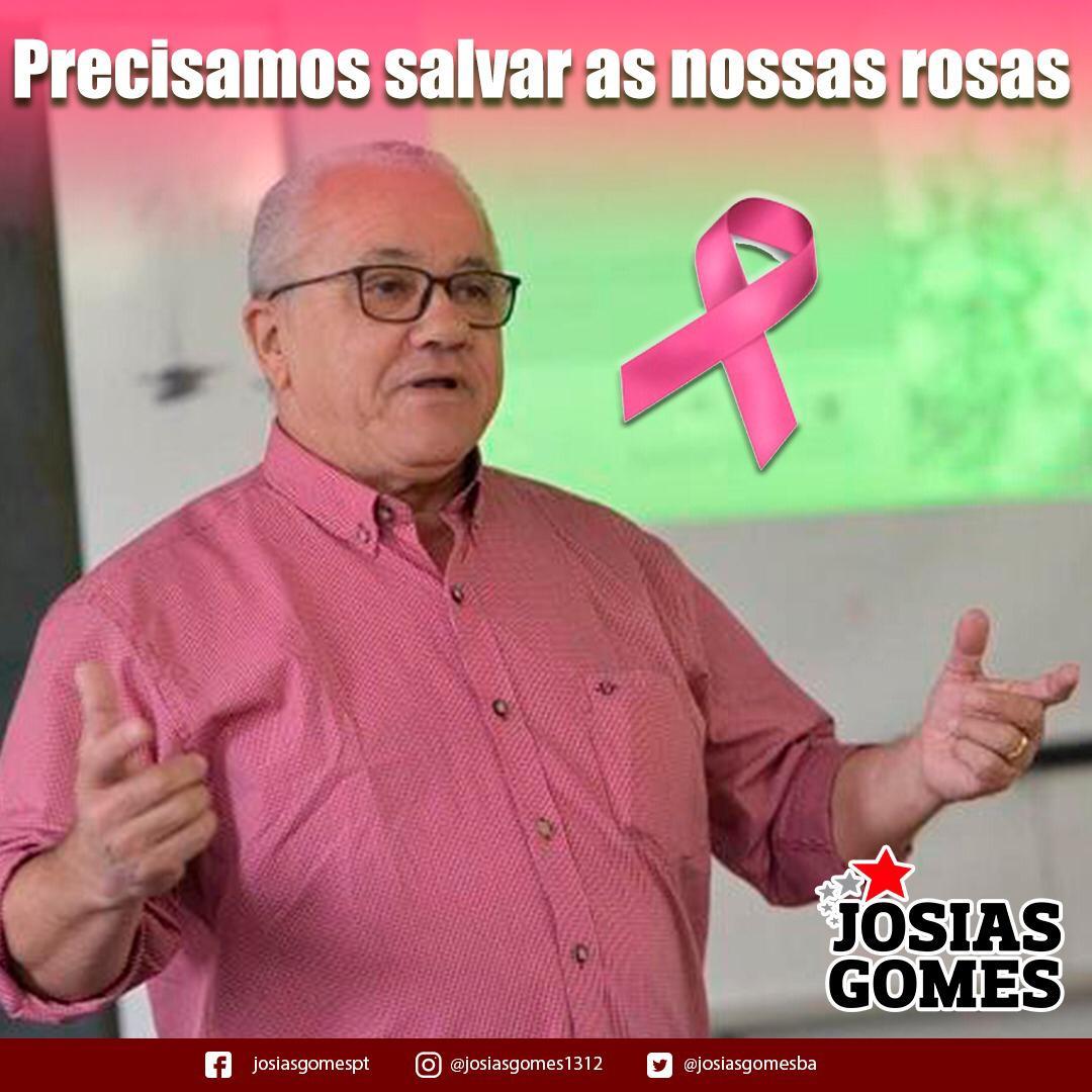 Todos Apoiando O Outubro Rosa!
