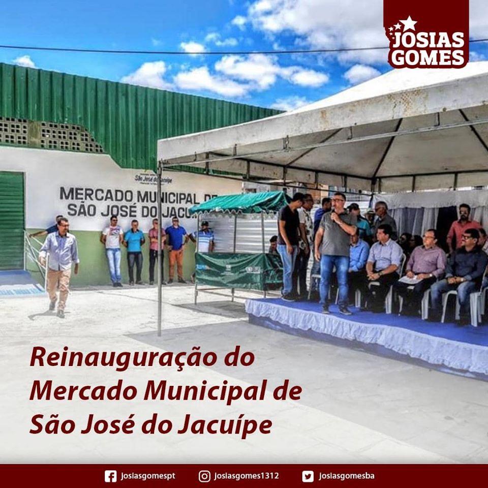 São José Do Jacuípe Comemora A Reforma Do Mercado Municipal!