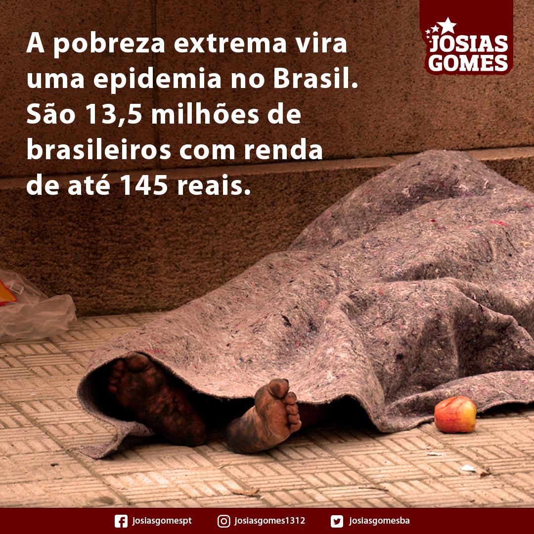 Com Bozo, A Extrema Pobreza Retorna!