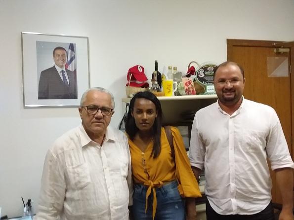 Secretário Josias Gomes Recebe Em Audiência Vereador Do Município De Sento Sé