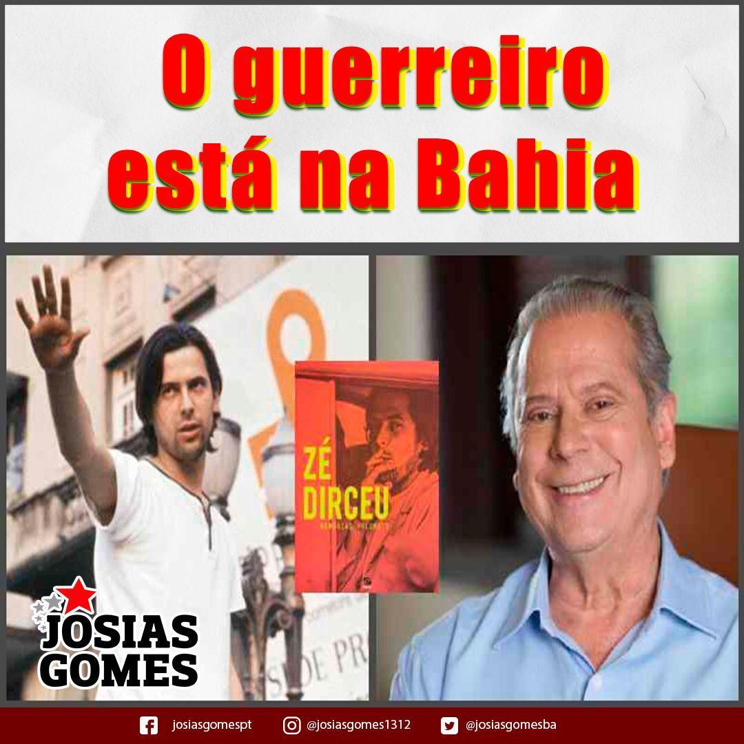 Zé Dirceu, Herói Do Povo Brasileiro, Mais Uma Vez Na Bahia!