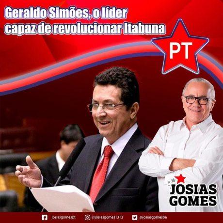Em Itabuna, A Esperança é Geraldo Simões!