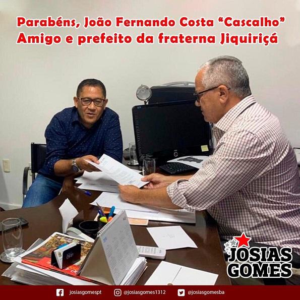 Parabéns Amigo Cascalho!