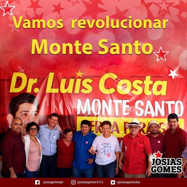 Nova Liderança Em Monte Santo!