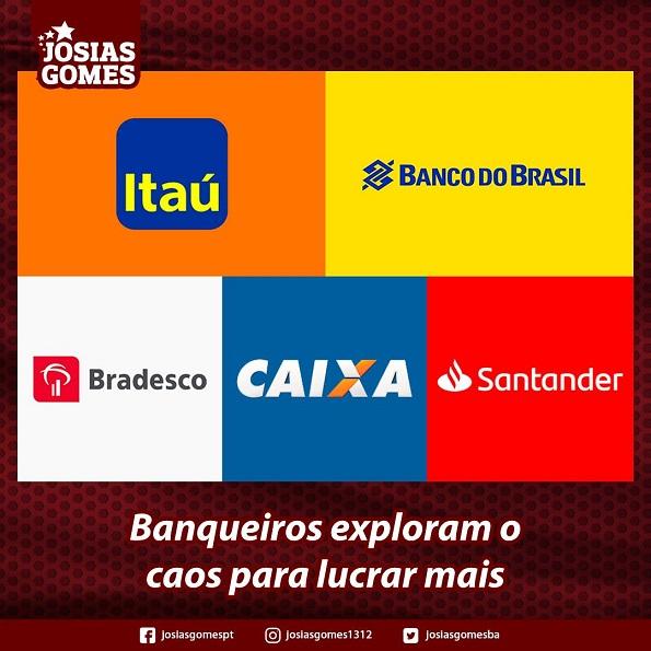 Bancos Não Têm Compromisso ético E Social!