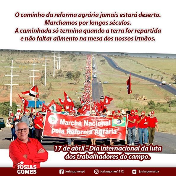 Dia De Luta Dos Trabalhadores Do Campo!
