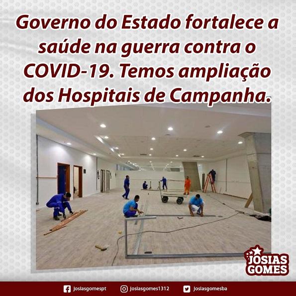 Investimento Em Hospitais De Campanha!