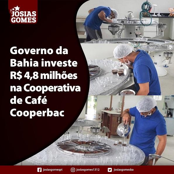 Investimento No Café Baiano!