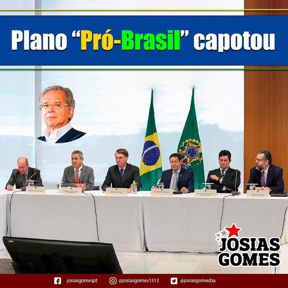 O Plano Pró-Brasil Ou Plano Marshall Nem Vai Sair Do Papel!