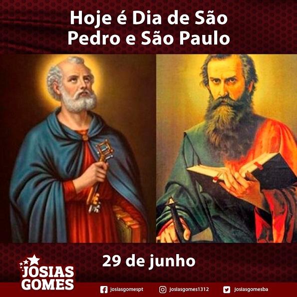 Dia De São Pedro E São Paulo!