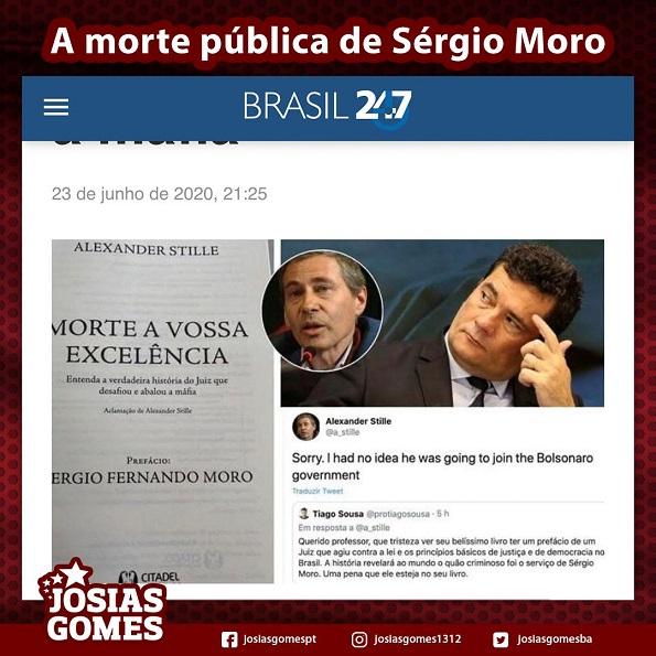 A Morte Em Vida De Sérgio Moro!