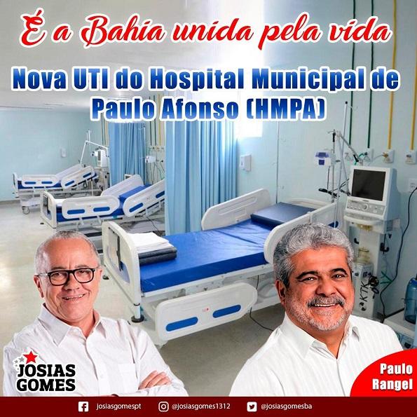 Paulo Afonso Inaugura UTI No Hospital Municipal!