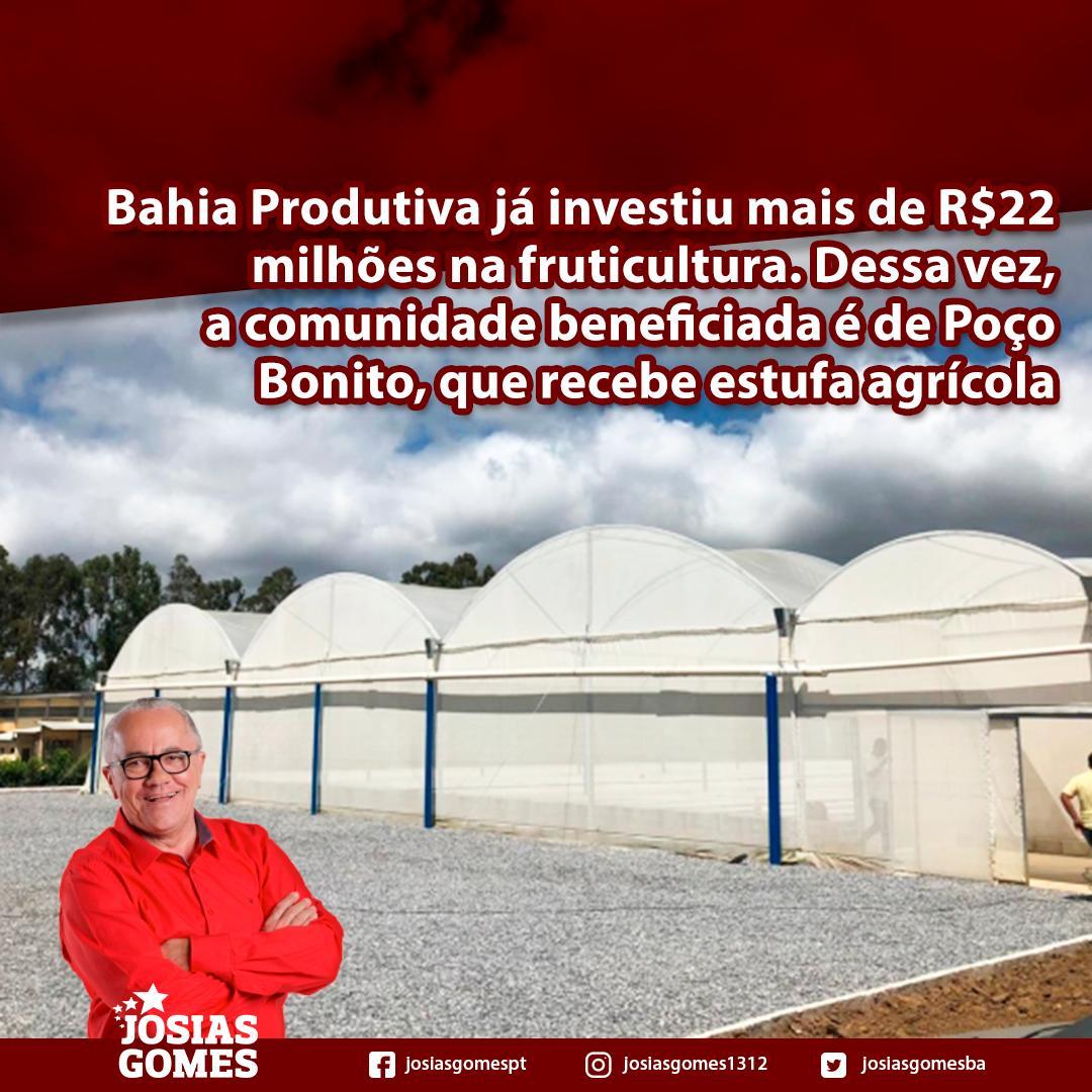 Comunidade De Poço Bonito Já Conta Com Estufa Agrícola!