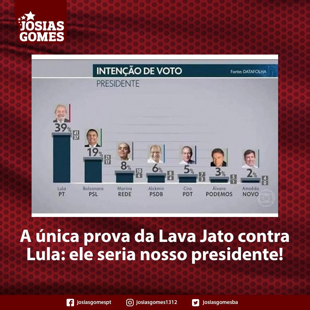 Lava Jato Foi Pensada Para Impedir Vitória Eleitoral De Lula!