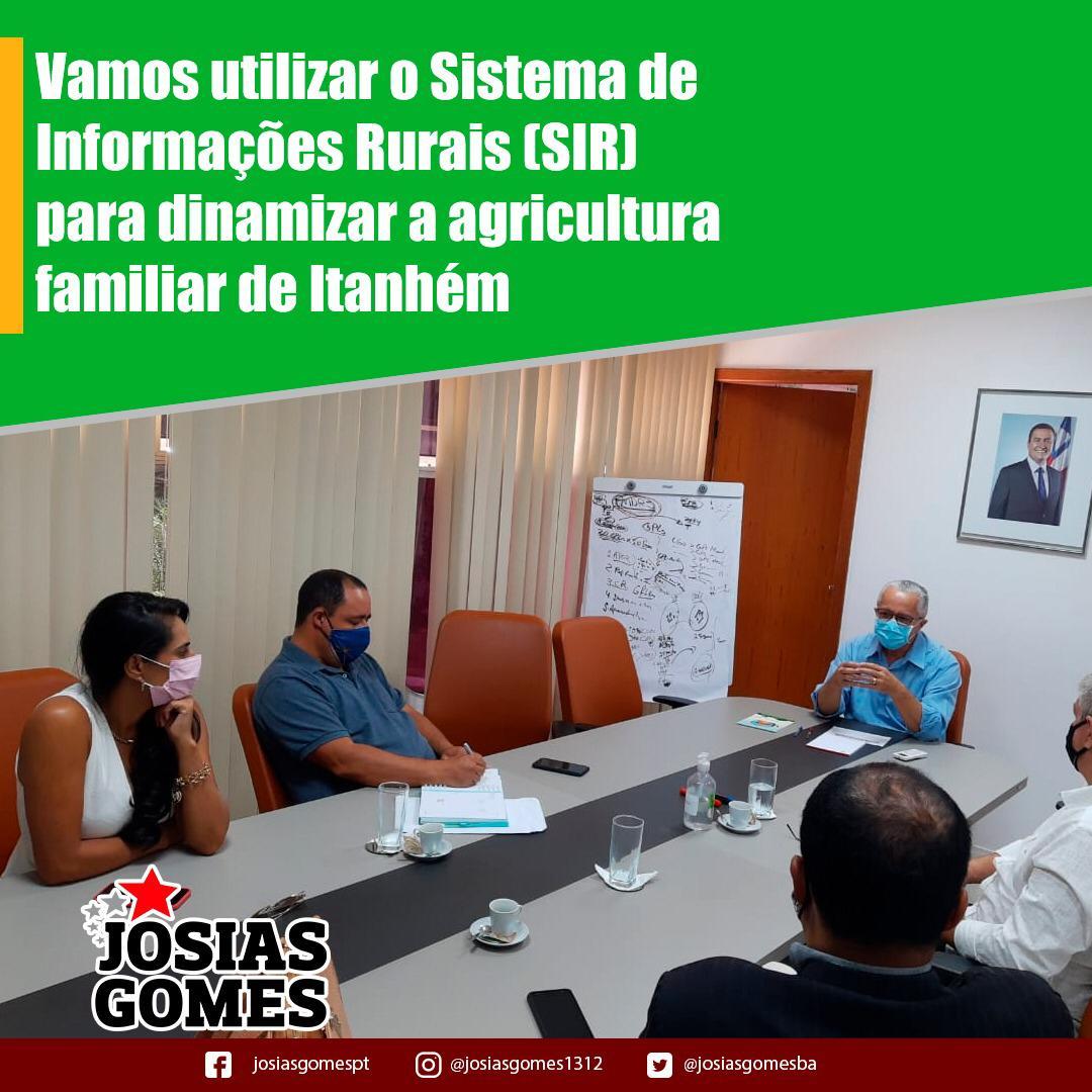 Itanhém: Vamos Construir O Plano Municipal Da Agricultura Familiar!