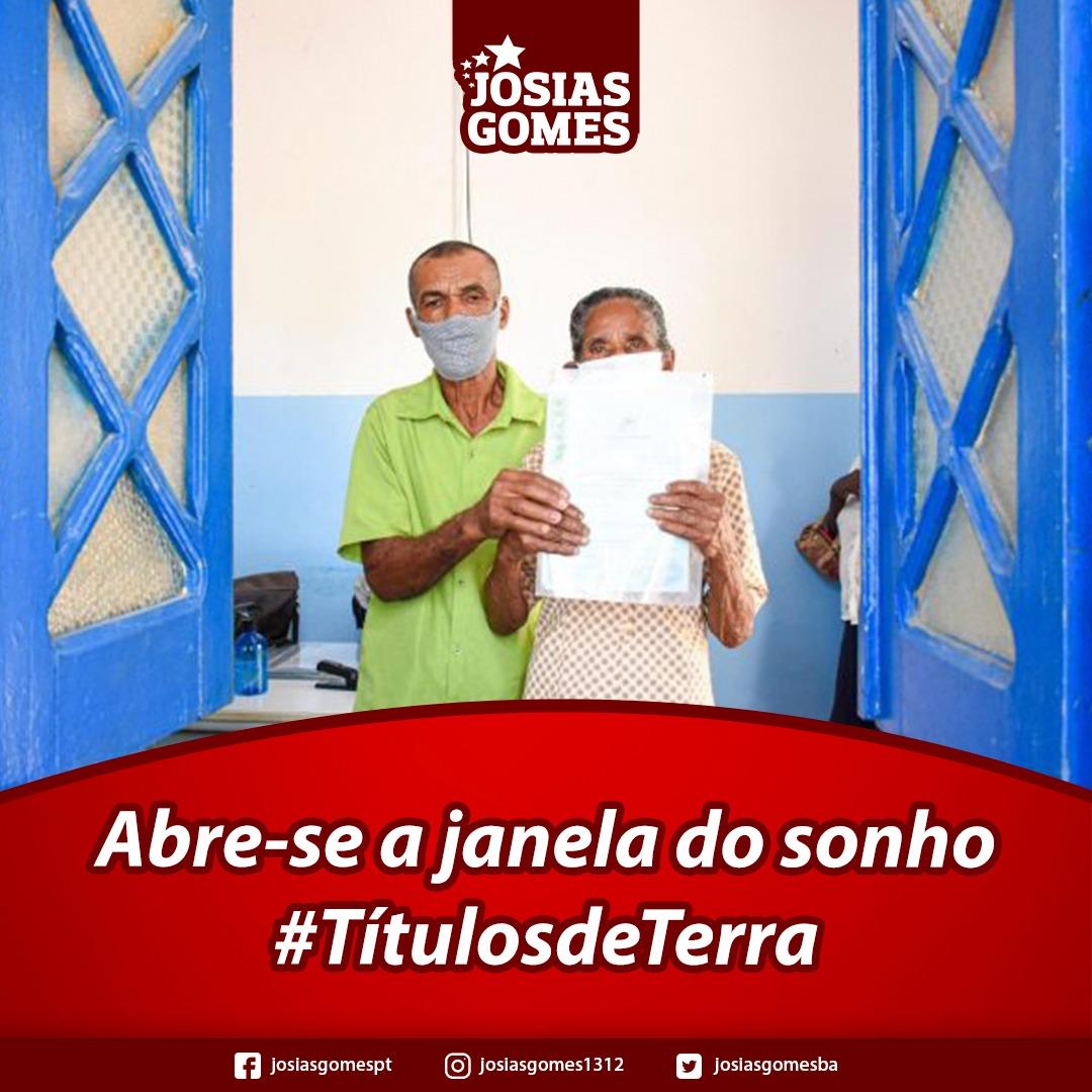 SDR Entrega 119 Títulos De Terra A Agricultores Familiares De Água Fria, Coração De Maria, Irará, Santanópolis, E Tanquinho!