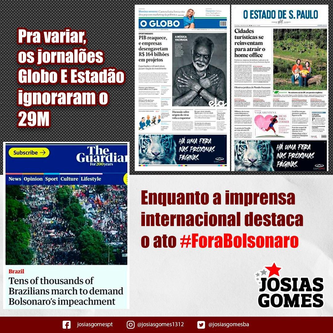 É Fora Bolsonaro, Vamos Chegar Lá!